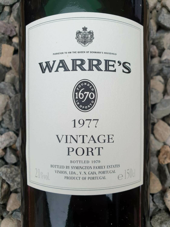Warre's Vintage 1977 Magnum