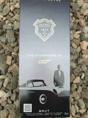Bollinger Special Cuvee Brut NV - Limited Edition James Bond Gift Box