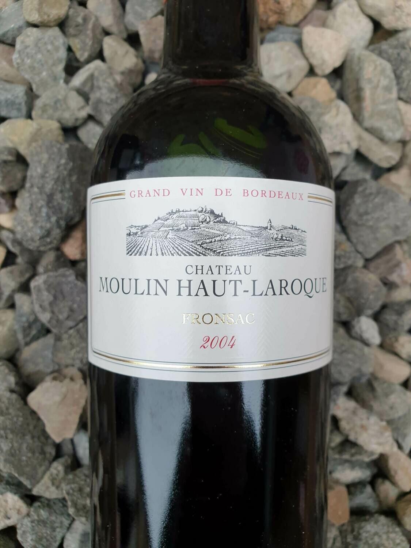 Chateau Moulin Haut-Laroque 2004 Fronsac