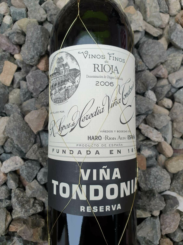 Rioja Reserva 'Vina Tondonia' Lopez de Heredia 2007