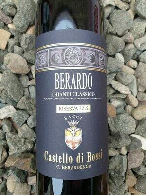 Chianti Classico Riserva 'Berardo' Castello di Bossi 2015