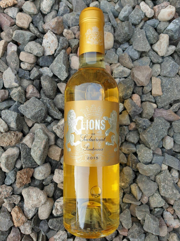 Lions de Suduiraut Sauternes 2015 HALF