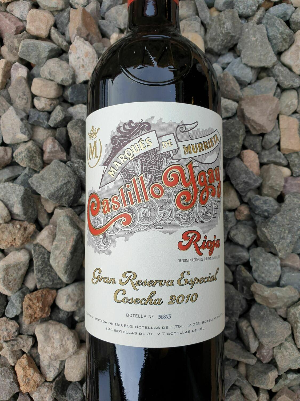 Rioja Gran Reserva Especial 'Castillo Ygay' Marques de Murrieta 2010