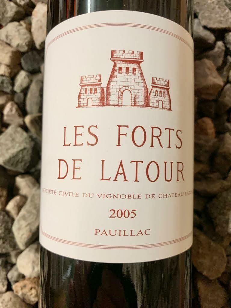 Les Fortes de Latour 2005 Pauillac