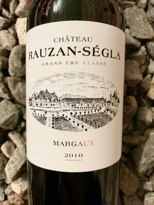 Chateau Rauzan Segla 2010 Margaux
