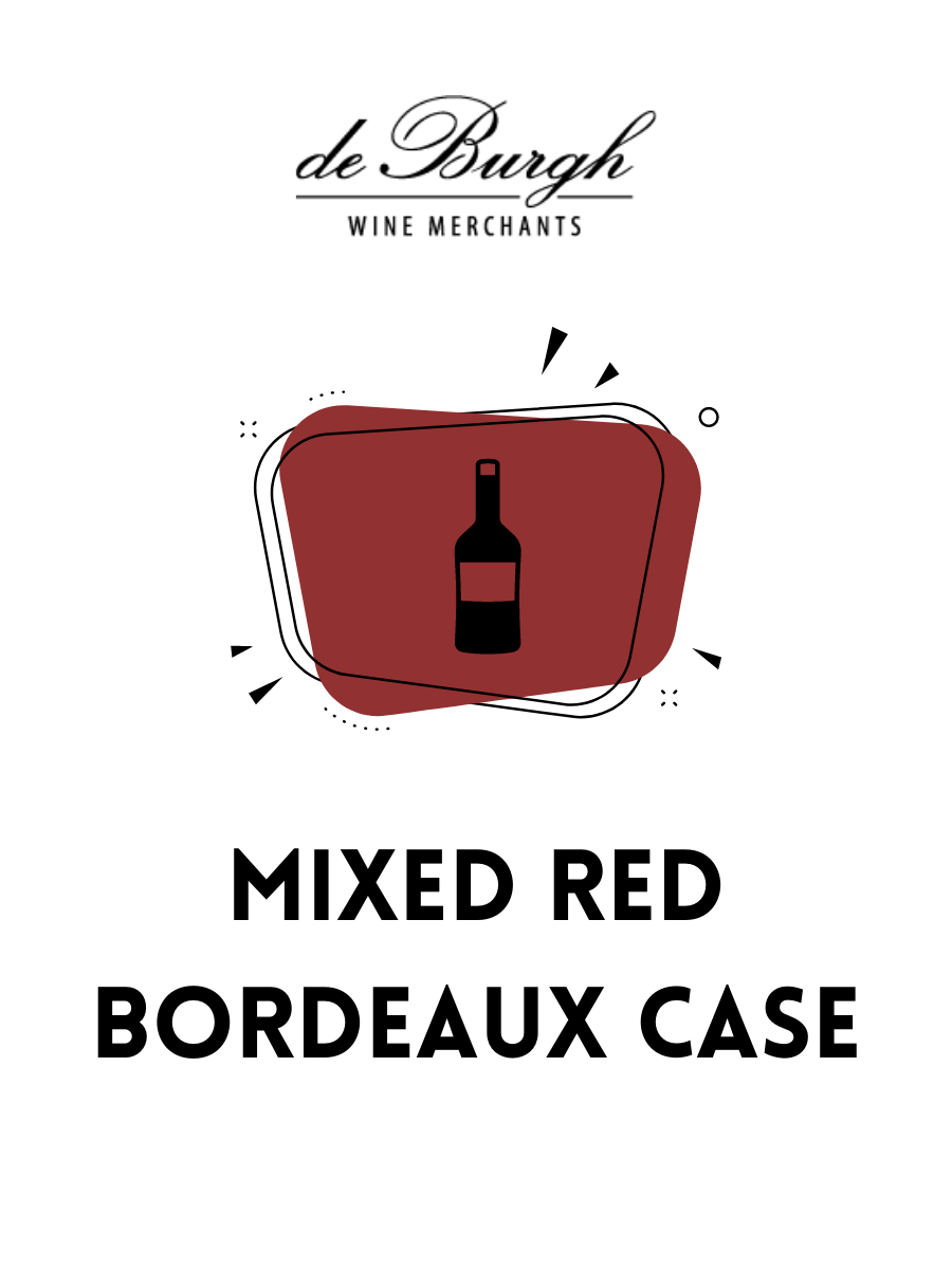 Mixed Red Bordeaux Case
