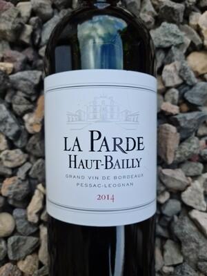 Parde de Haut Bailly 2014 Pessac-Leognan