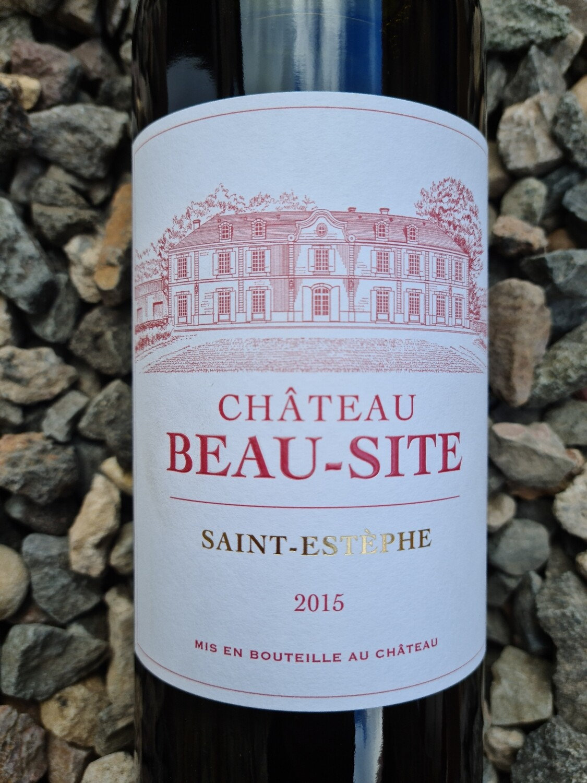 Chateau Beau Site 2015 St Estephe