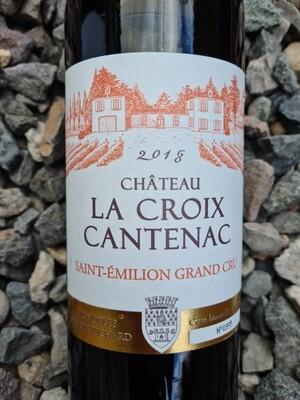 Chateau La Croix Cantenac 2018 Saint Emilion Grand Cru