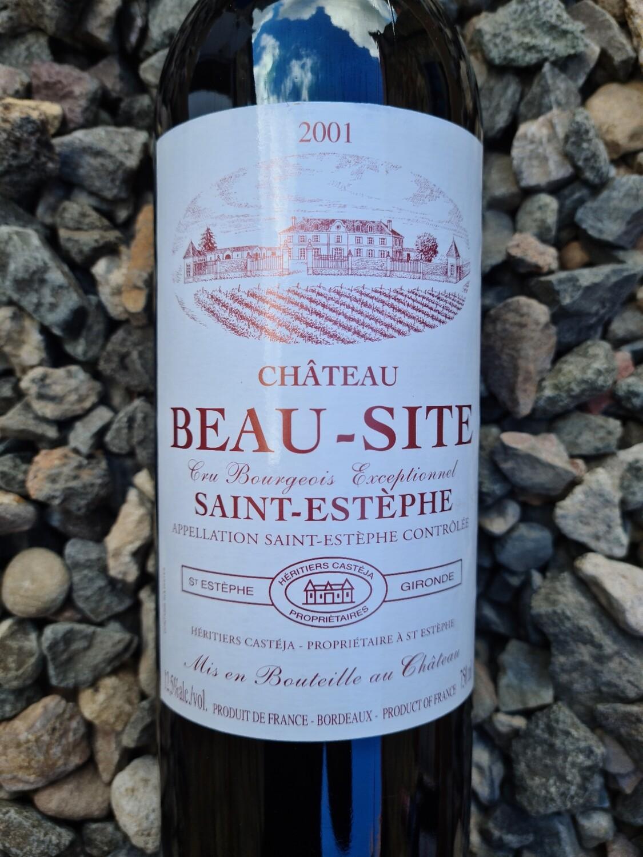 Chateau Beau Site 2001 St Estephe