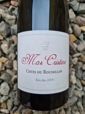 Mas Cristine Cotes du Roussillon Rouge 2019