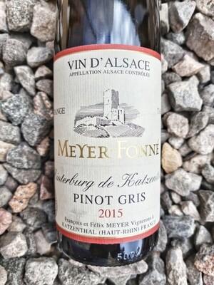 Meyer Fonne Pinot Gris 'Hinterburg de Katzenthal' Vendage Tardive 2015 50cl