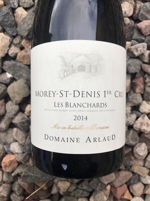 Domaine Arlaud Morey-St-Denis 1er Cru 'Blanchards' 2014