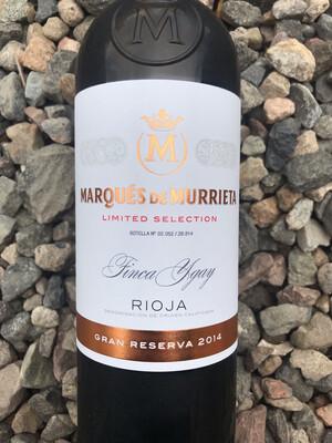 Rioja Gran Reserva Marques de Murrieta 2014