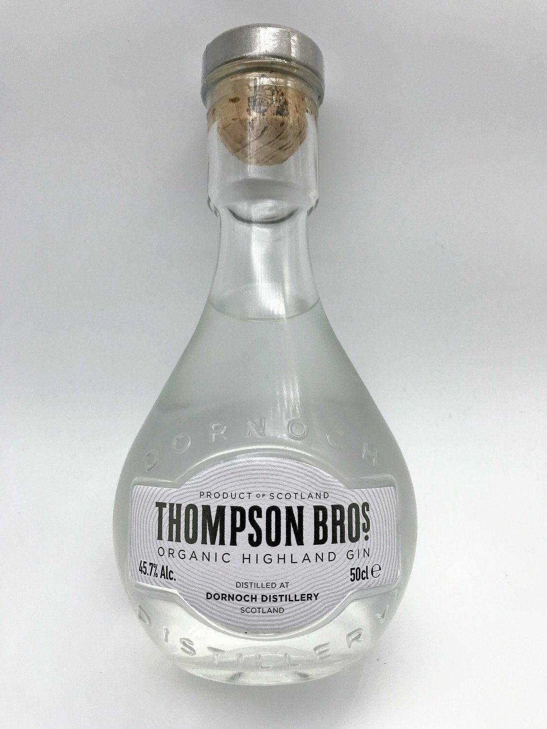 Thompson Brothers Organic Gin 50cl