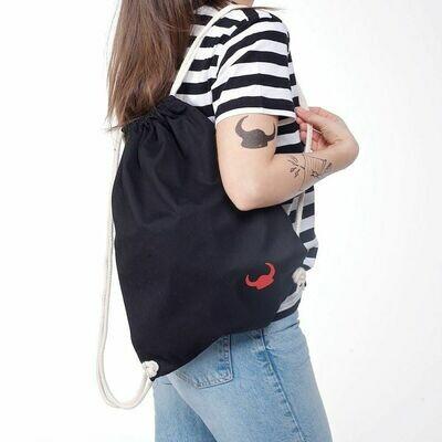 Plecak worek z hełmem