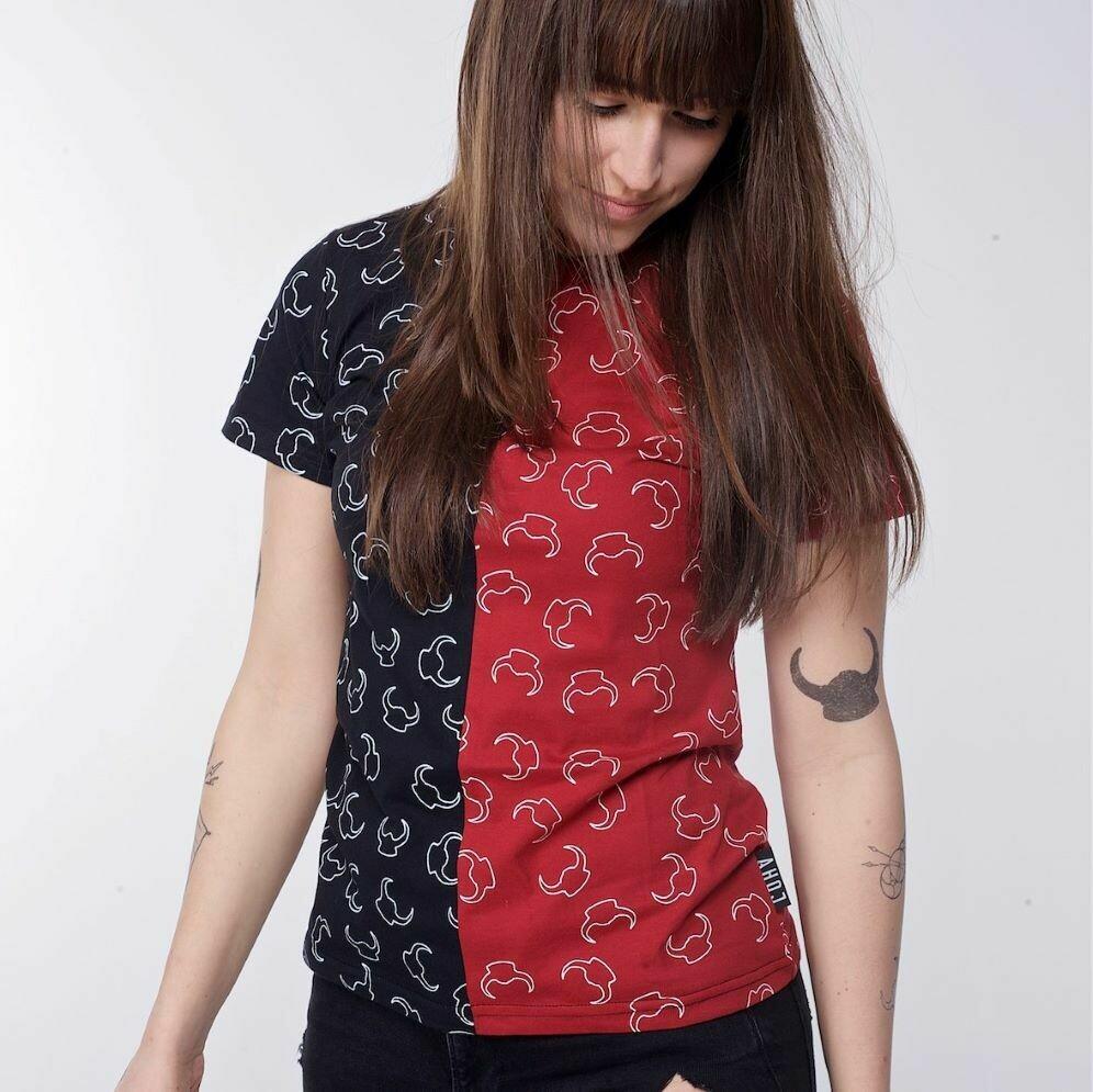 """T-Shirt """"Pattern"""" mix damski"""