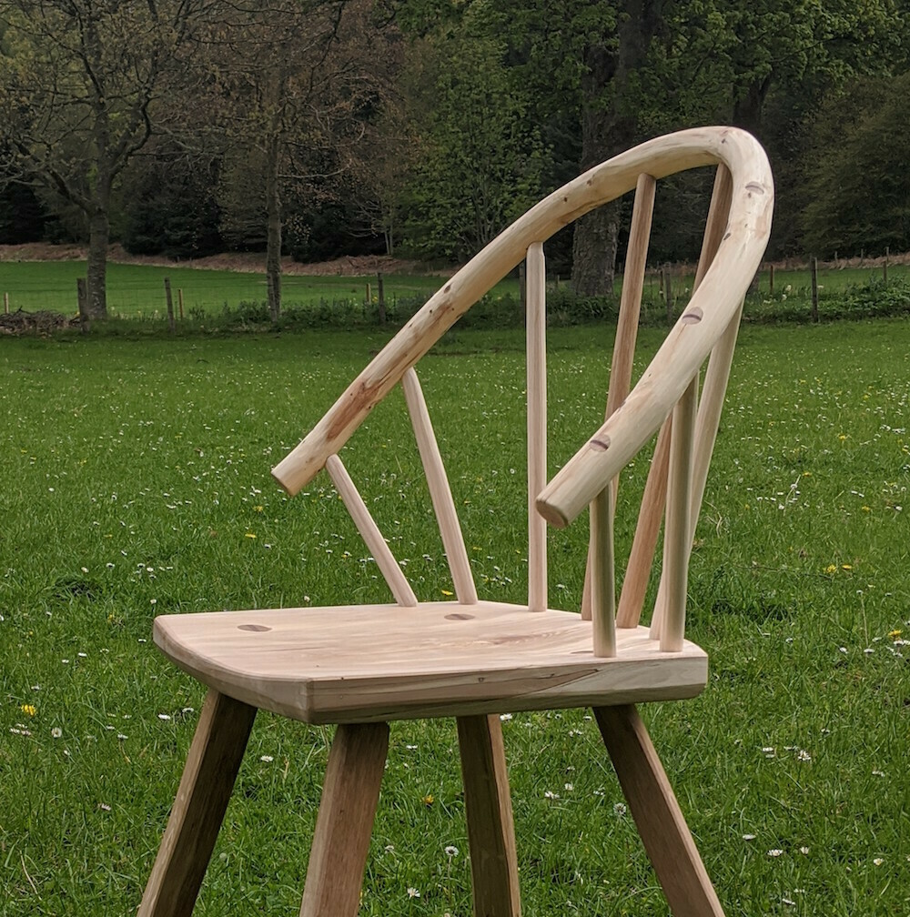 "12 - 16 July 2021 - ""Logie Lowbow"" Chair Making Course"