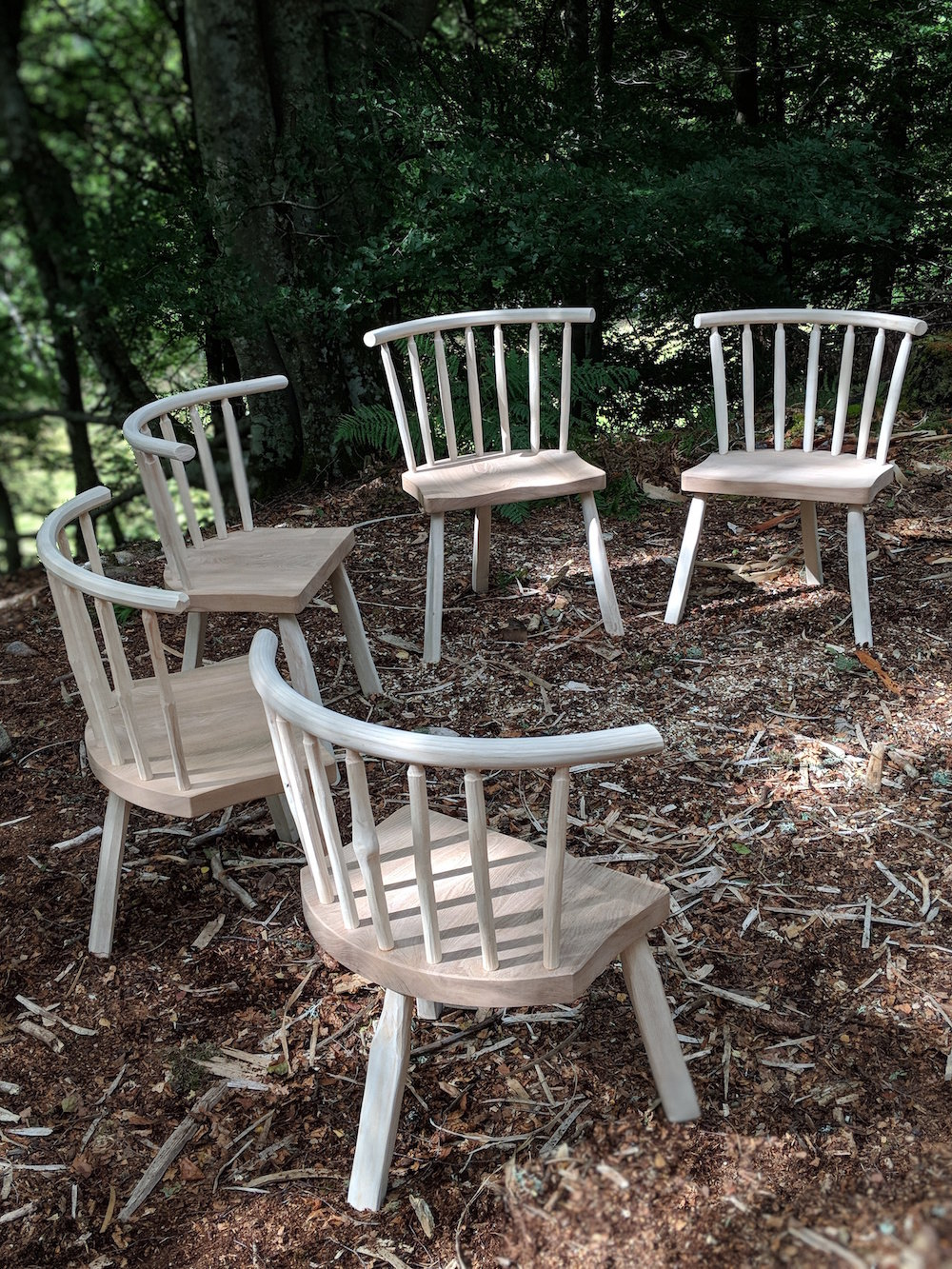 24 - 28 August - West Coast Chair Making Course