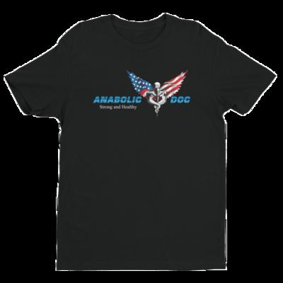 Anabolic Doc T Shirt - Flag Logo