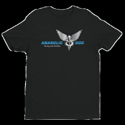 Anabolic Doc T Shirt - Silver Logo