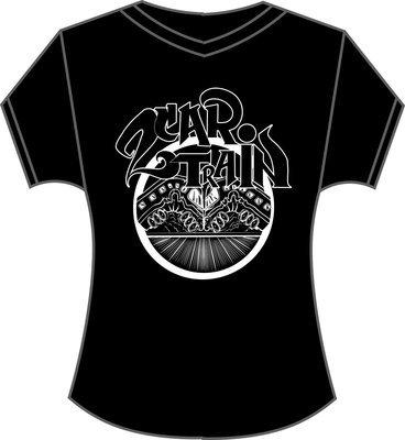 Womens T-Shirt (Crashing Trains Logo)