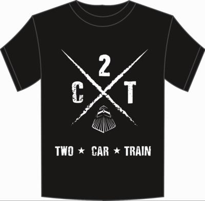 Mens T-Shirt (Train Crossing Logo)