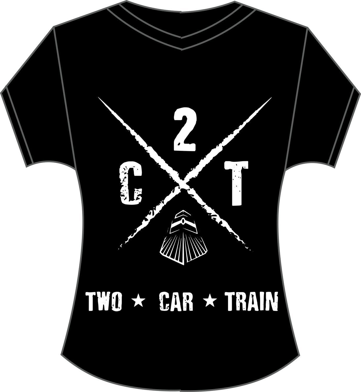Women's T-Shirt (Train Crossing Logo)