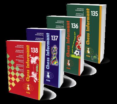 Chess Informants - 2018. Series - CI 135+136+137+138