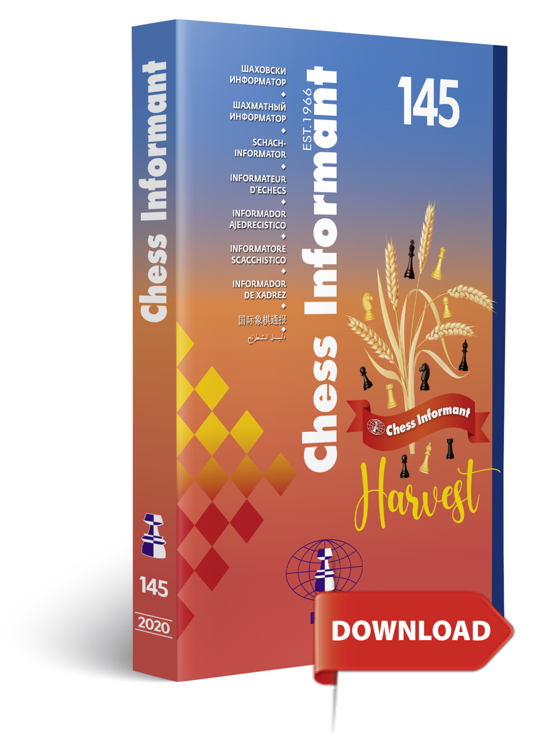 Chess Informant 145 - DOWNLOAD VERSION