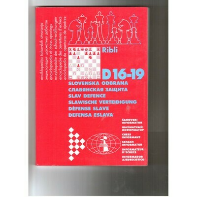 D 16-19 Slav Defence by Ribli