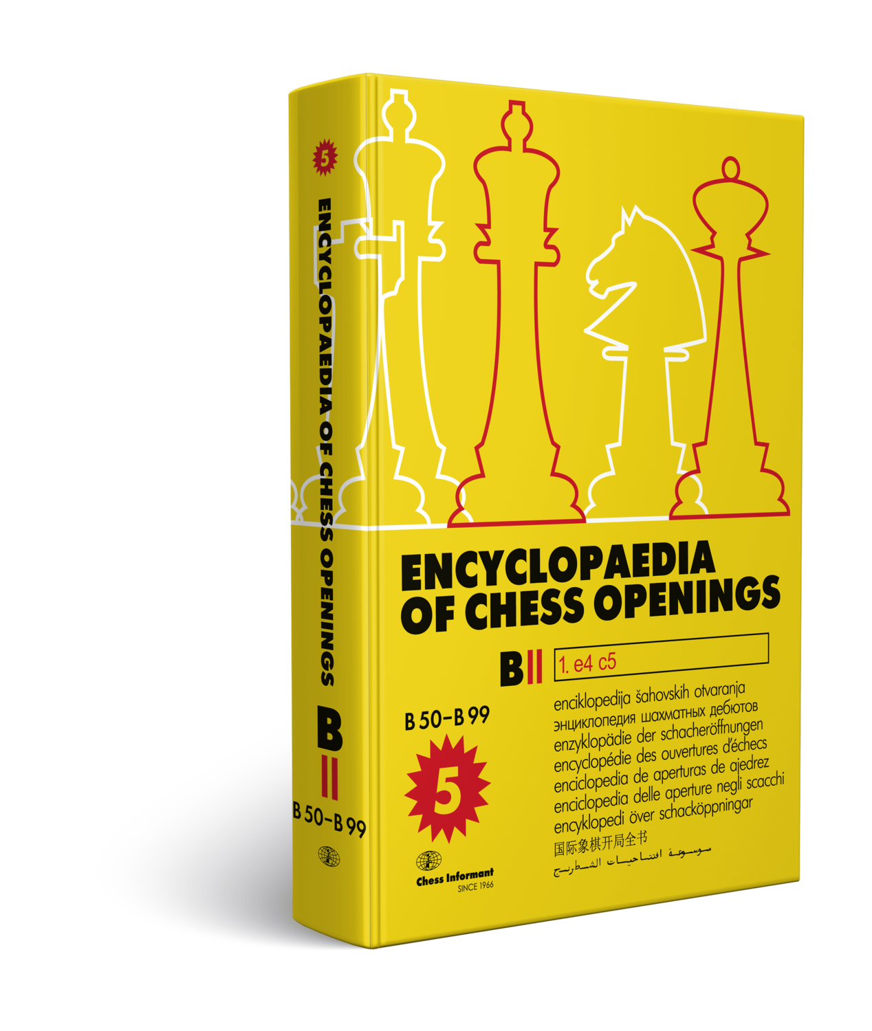 Encyclopaedia Of Chess Openings, Volume B - Part 2    ***DAMAGED***