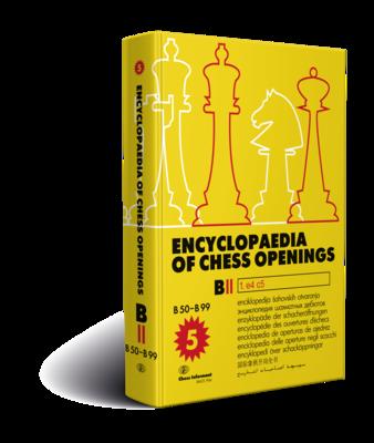 Encyclopaedia Of Chess Openings, Volume B - Part 2    ***DAMAGED***