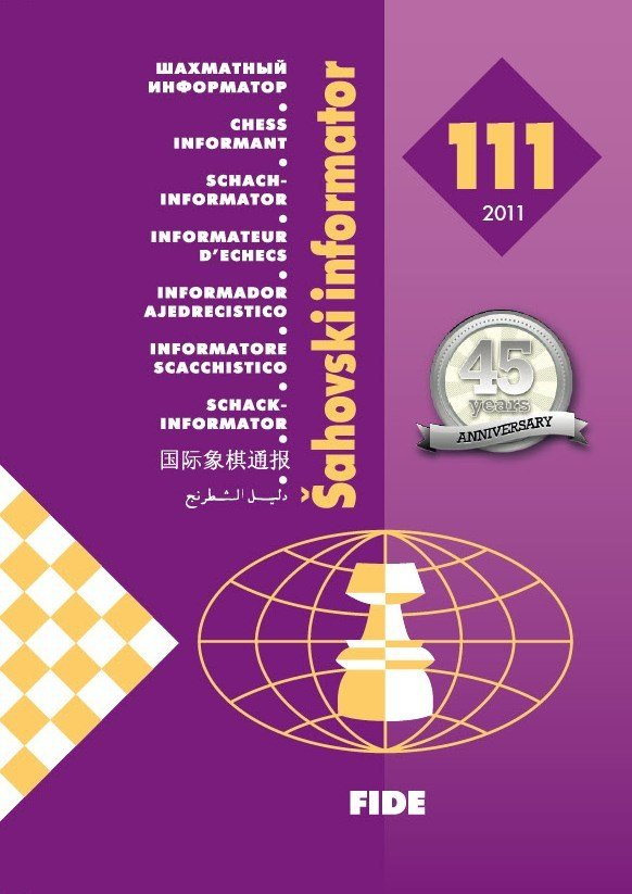 Chess Informant 111 - Anniversary edition