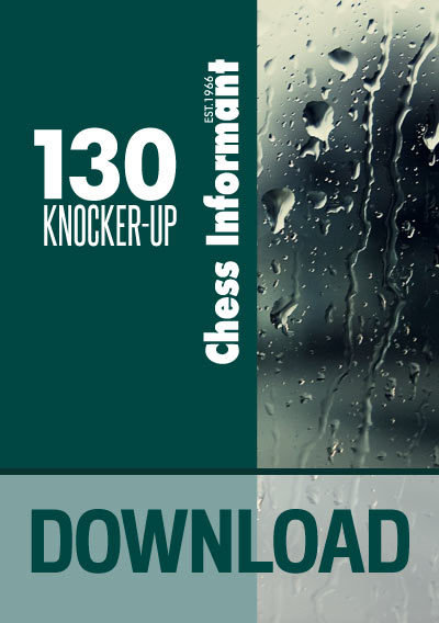 Chess Informant 130 Knocker-up - DOWNLOAD VERSION