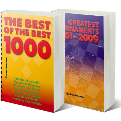 The best of the best 1000 + The Greatest Chess Tournaments 2001-2009