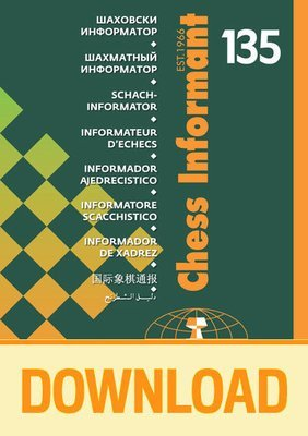 Chess Informant 135 - DOWNLOAD VERSION