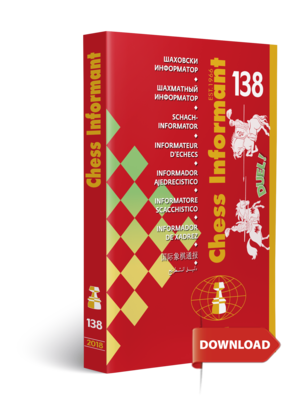 Chess Informant 138 - DOWNLOAD VERSION