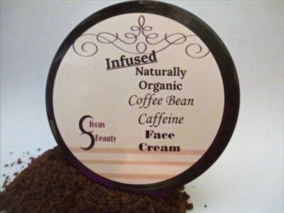 Infused Coffee Bean Caffeine Face Cream