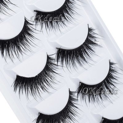 Natural Thick False Handmade Eyelash Extensions