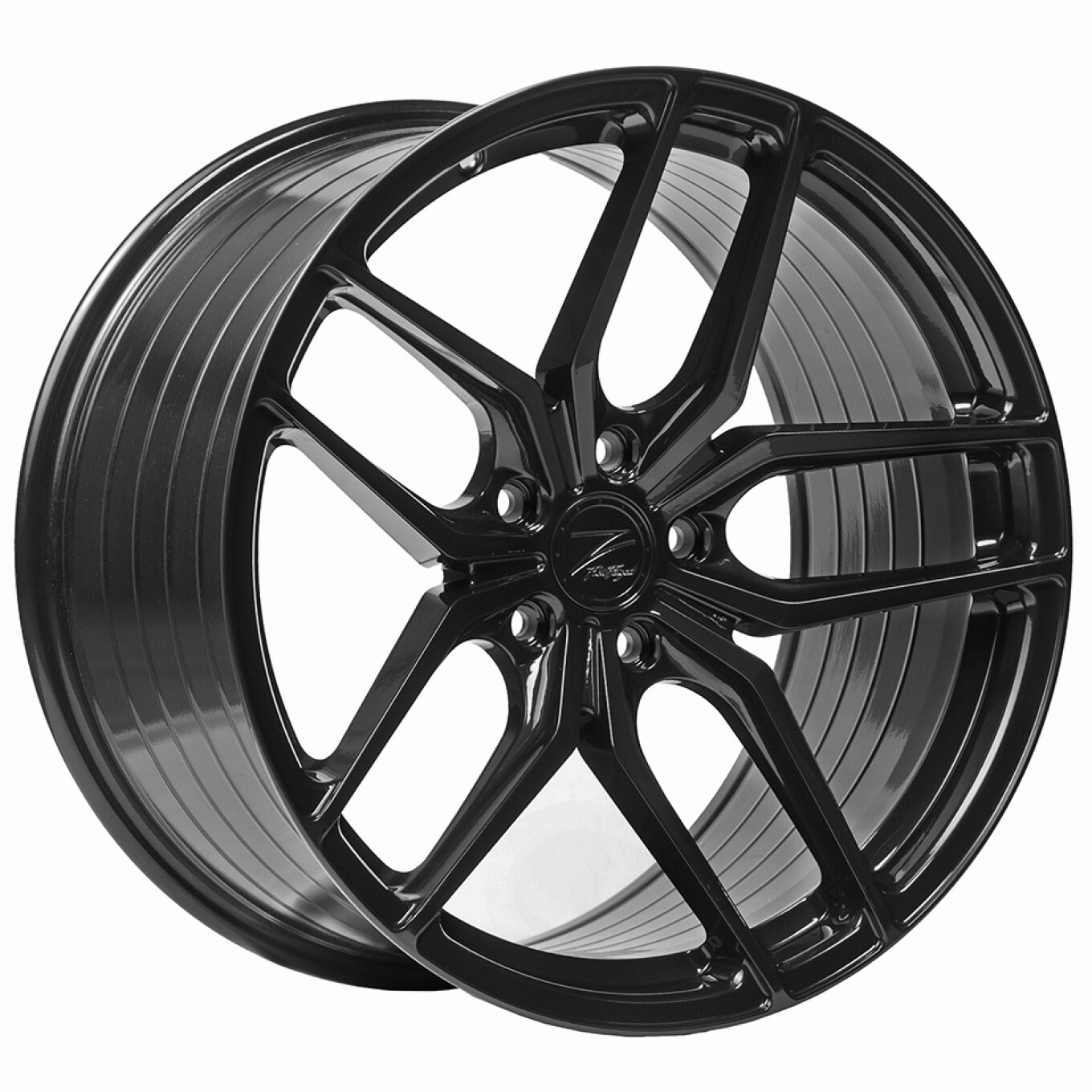 Z-Performance ZP2.1 10x20 ET48 5x112 FlowForged Gloss Black