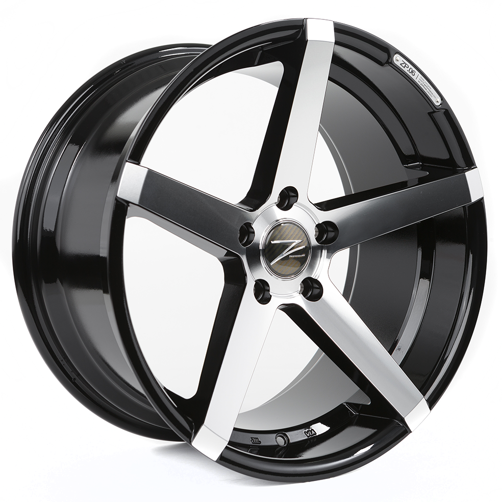 Z-Performance ZP.06 10x20 ET45 5x120 Phantom Black Polish