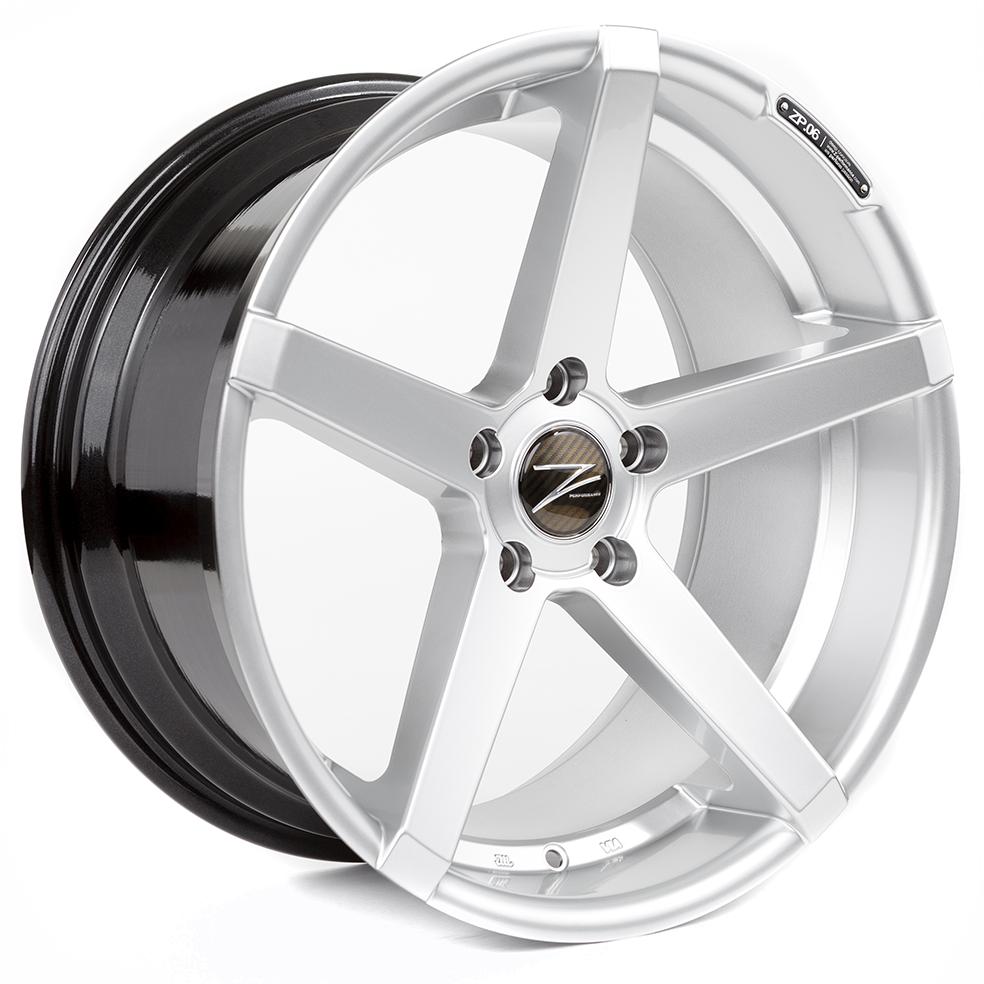 Z-Performance ZP.06 8.5x20 ET35 5x120 Sparkling Silver