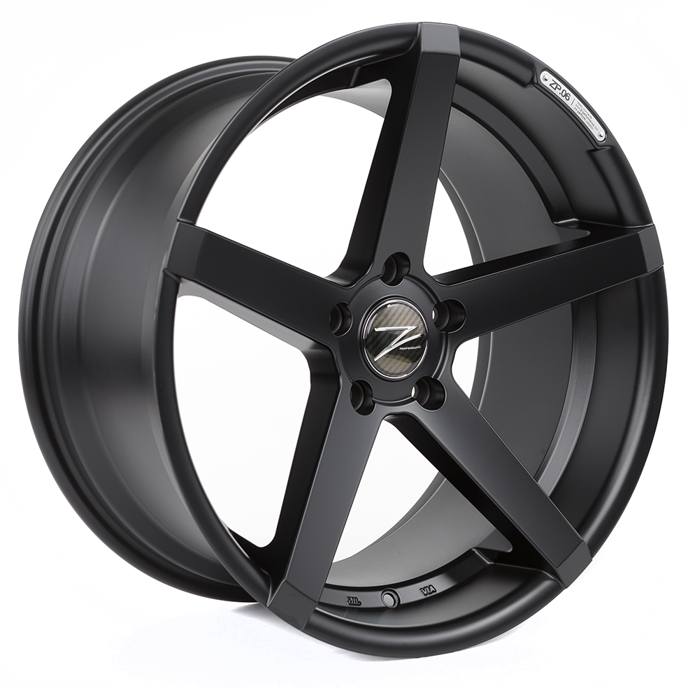 Z-Performance ZP.06 9.5x19 ET40 5x120 Matte Black