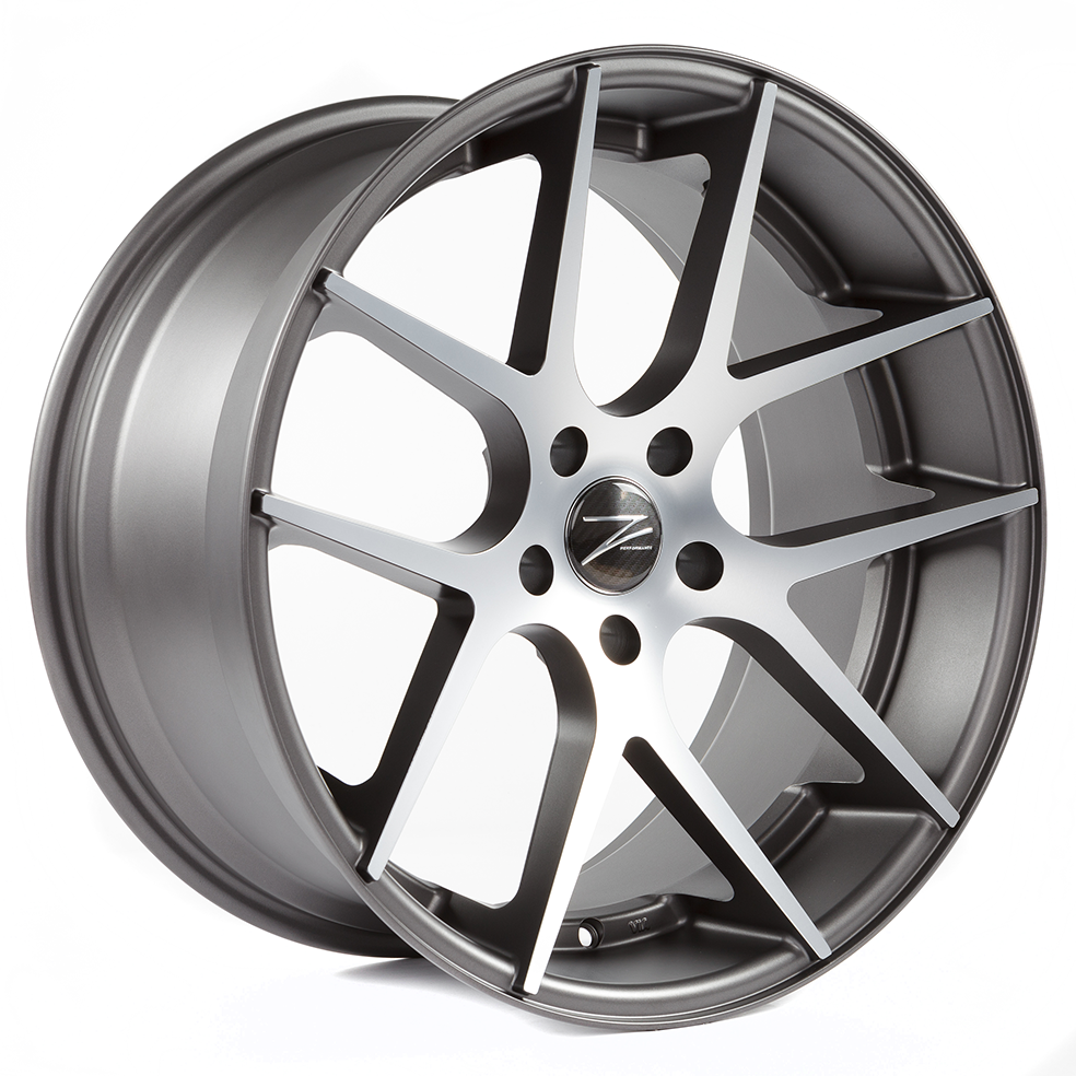 Z-Performance ZP.07 10x20 ET35 5x120 Matte Gunmetal Polish