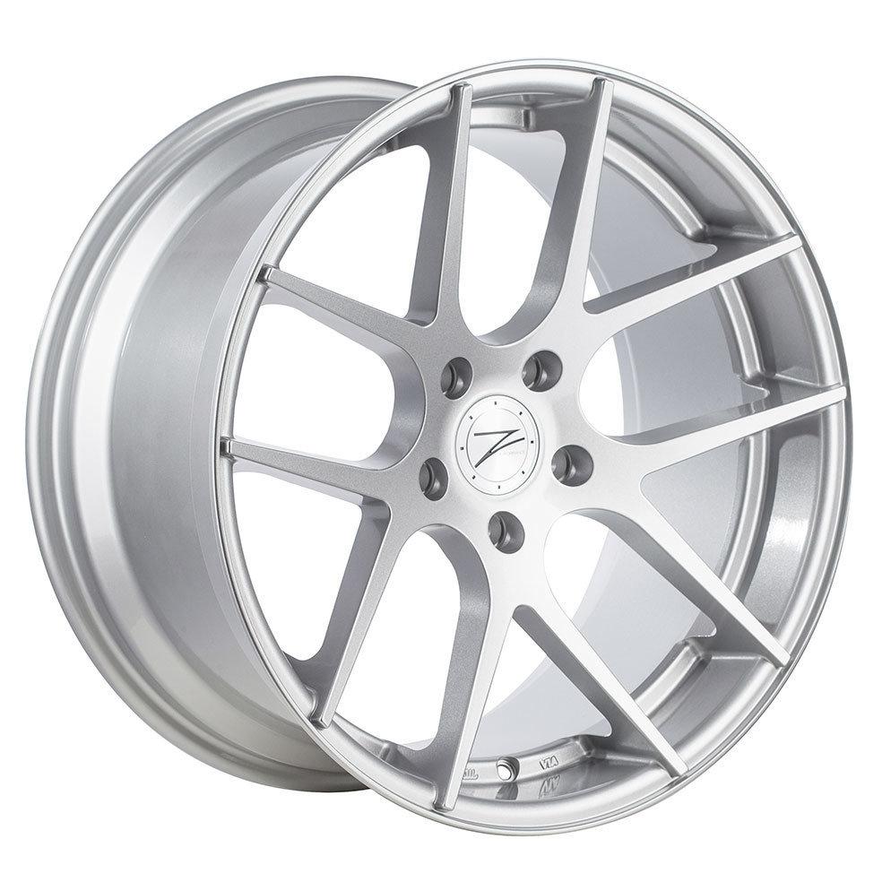 Z-Performance ZP.07 9x18 ET38 5x120 Sparkling Silver
