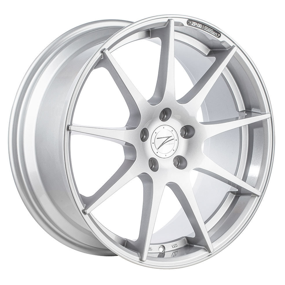 Z-Performance ZP.08 10x20 ET45 5x120 Sparkling Silver