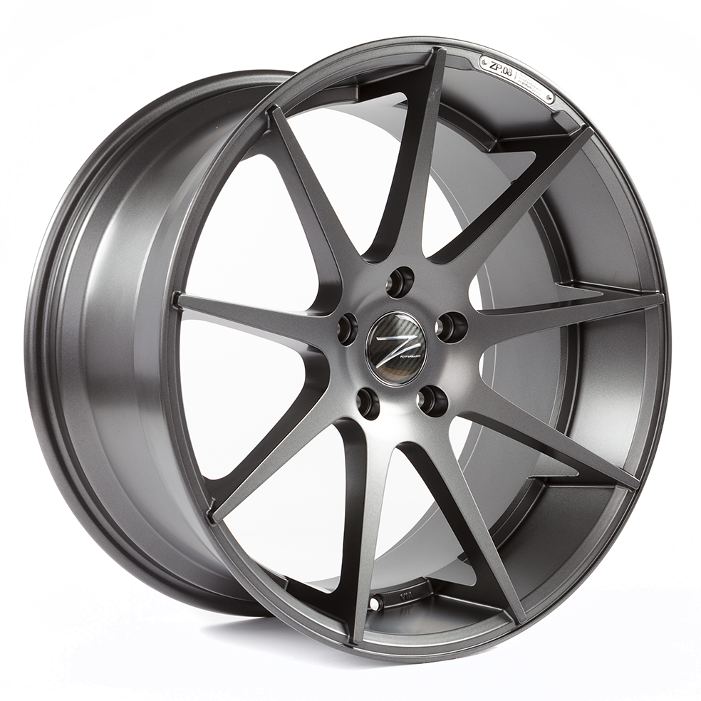 Z-Performance ZP.08 8.5x20 ET35 5x120 Matt Gunmetal