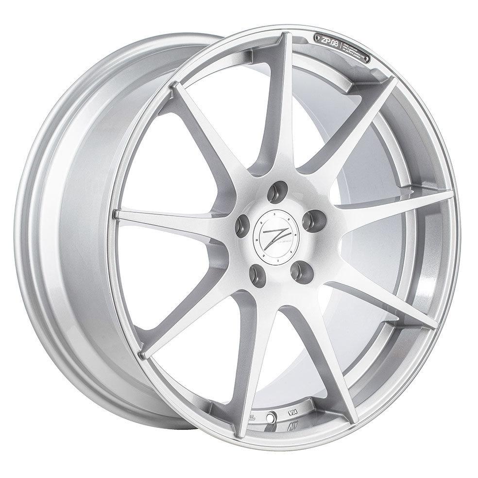 Z-Performance ZP.08 9x18 ET38 5x120 Sparkling Silver