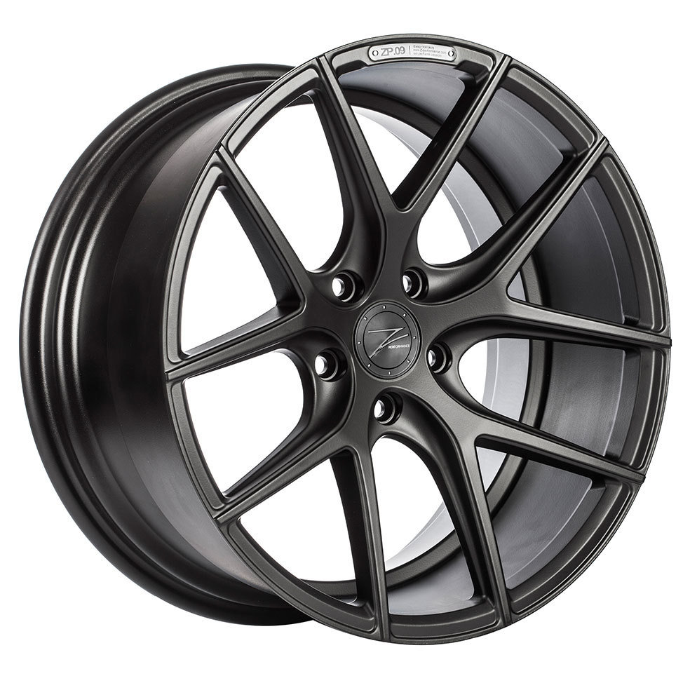Z-Performance ZP.09 8.5x20 ET45 5x112 Matte Black